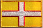 Dorset Embroidered Flag Patch, style 08.